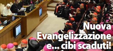 Nuova Evangelizzazione e… cibi scaduti!