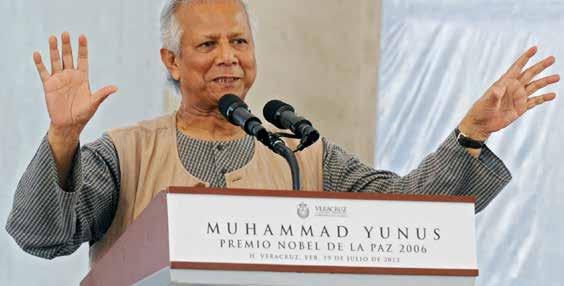 """Muhammad Yunus:  """"La coerenza è una virtù che libera l'uomo"""""""