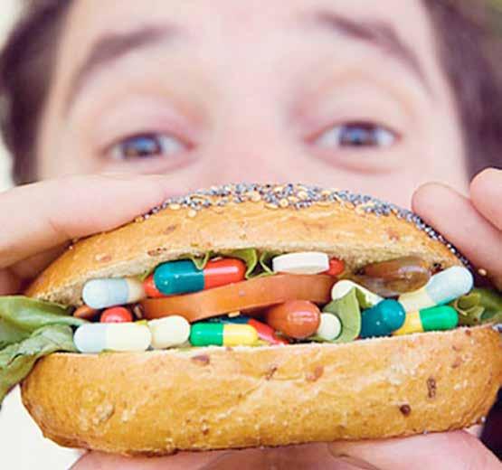 Stai usando troppe medicine. Anche se non ne prendi mai