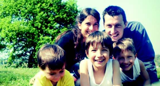 La famiglia senza pattumiera