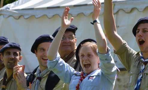 Scout d'Europa in Europa