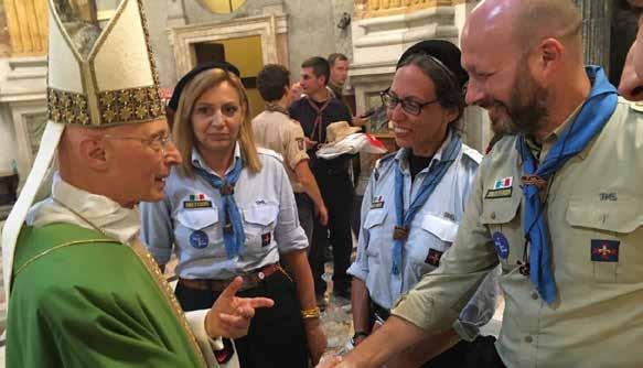 Il saluto del Cardinal Bagnasco